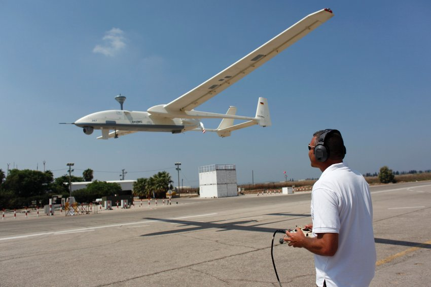 Israeli Heron Drones Can Also Carry Weapons In Some Models The Country Is Worlds Second Biggest Exporter Of