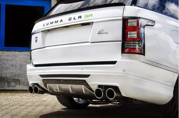 Lumma Design Range Rover Vogue CLR SR 7