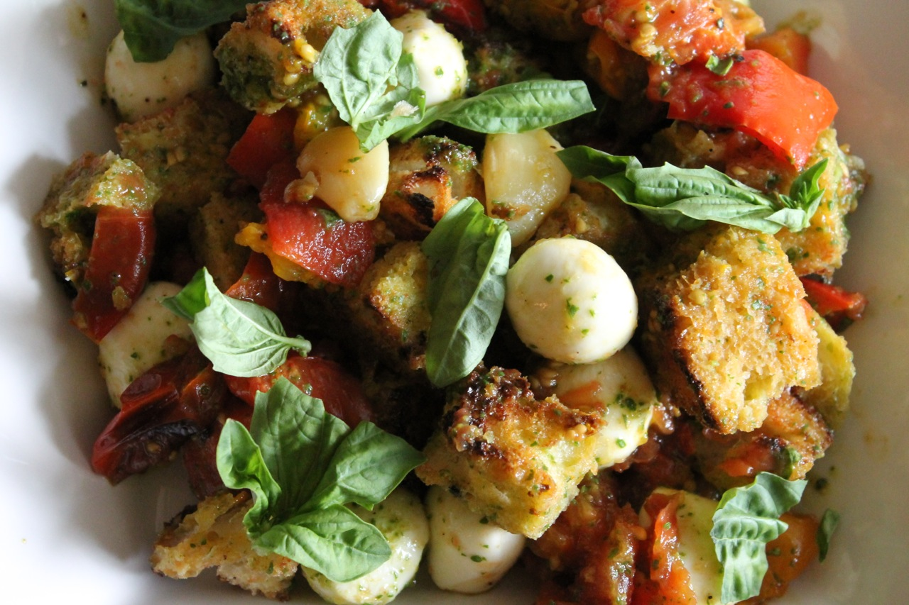 Cook In / Dine Out: Roasted Tomato Panzanella