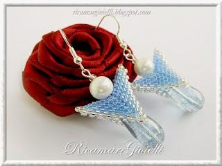 seed bead earrings beaded jewelry blog beadwork peyote