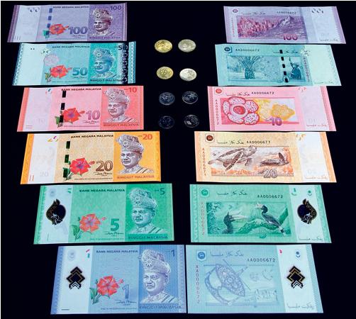 Wang kertas dan wang syiling baru 2012