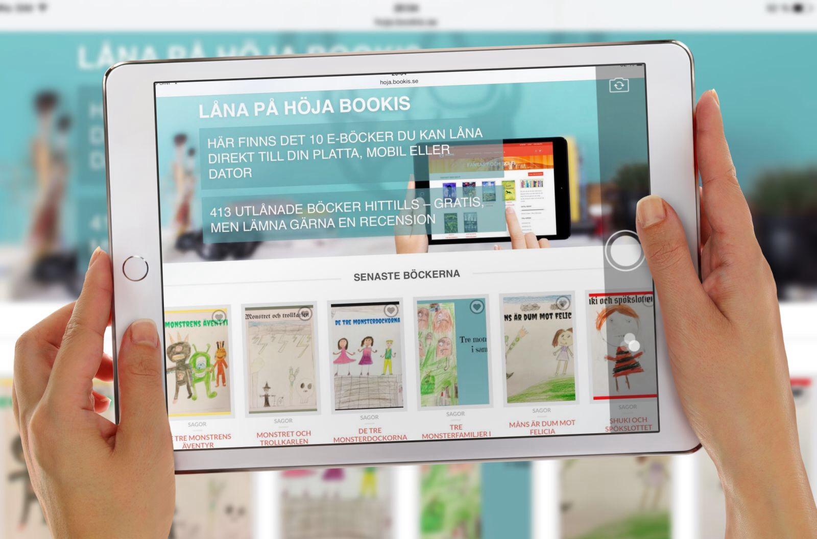Nu lanserar vi Höja Bookis