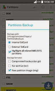 Backup Efs Imei modem partition on any Xiaomi devices