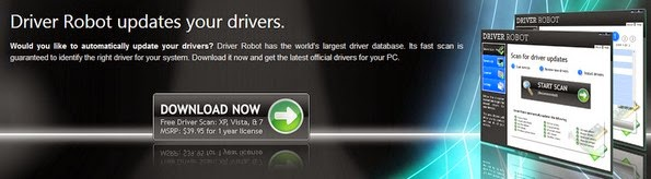Driver robot engine for updating device drivers
