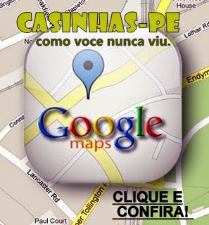 Casinhas no Google Maps