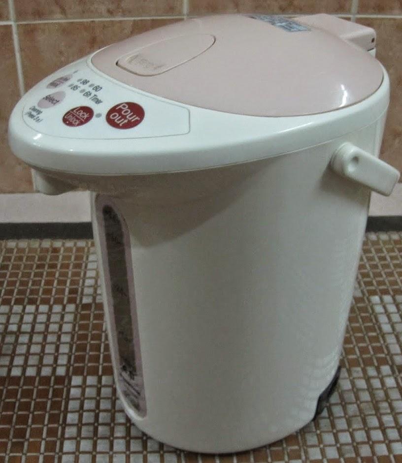 contoh pemanas air minum elektrik merk panasonic