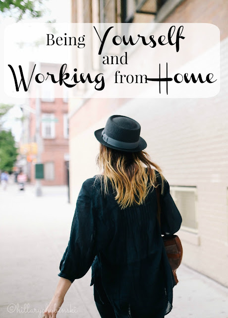 Tips for being true to yourself while working from home