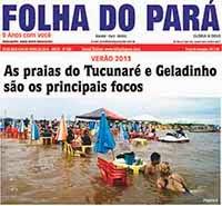 JÁ NAS BANCAS A NOVA EDIÇÃO DO JORNAL FOLHA DO PARÁ - CONFIRAS TODAS AS PÁGINAS