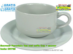 Souvenir Porcelain Tea And Coffe Cup Saucer