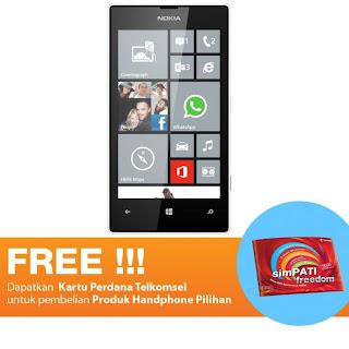 Harga dan Spesifikasi Nokia Lumia 520 8 GB Telkomsel Putih