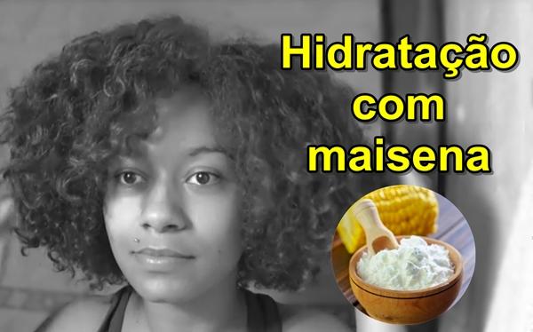 como fazer hidratação amido milho