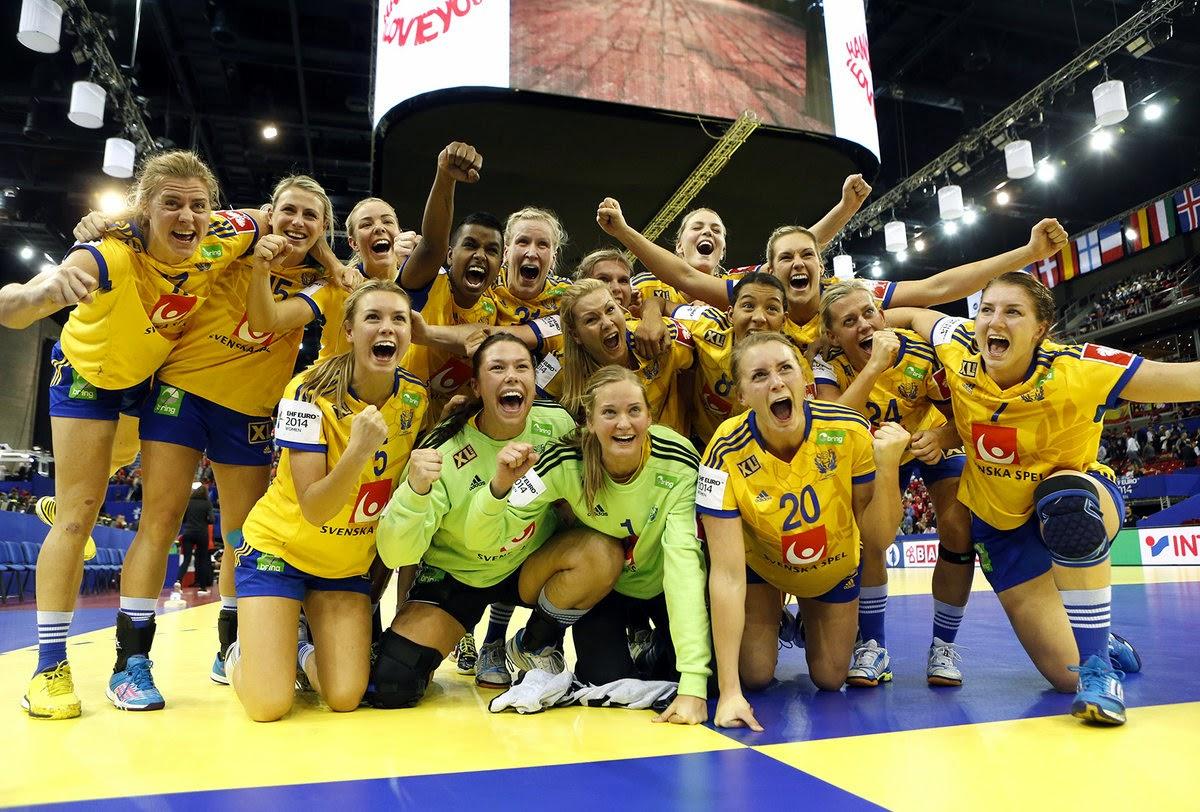 BALONMANO (Europeo femenino 2014) - Suecia se vuelve a subir al podio europeo 4 años después