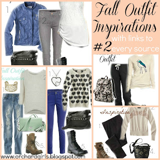 Fall Outfit Inspiration (Click for sources)- Orchard Girls