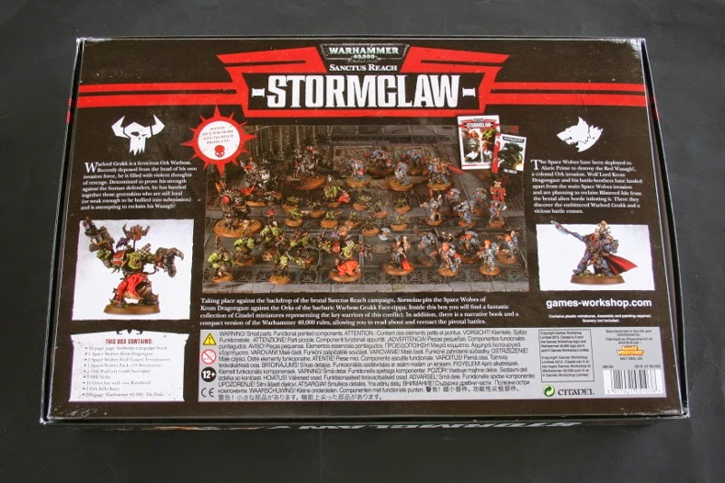 Contraportada de Sanctus Reach: StormClaw