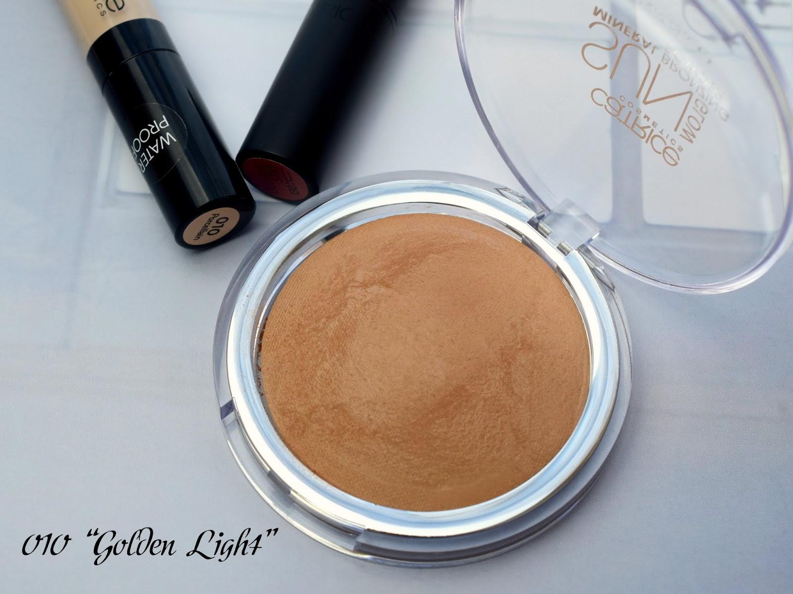 Catrice Sun Glow Mineral Bronzing Powder 010 Golden Light