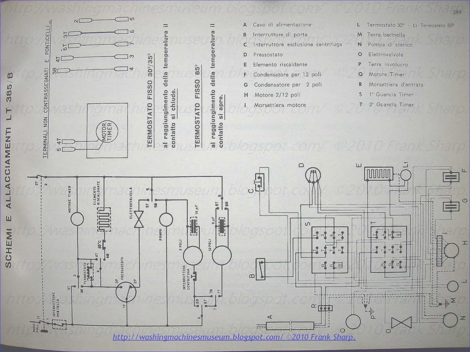 Washer Rama Museum Zerowatt Mod Lt385 B Schematic Diagram Block Of Craft Electronics