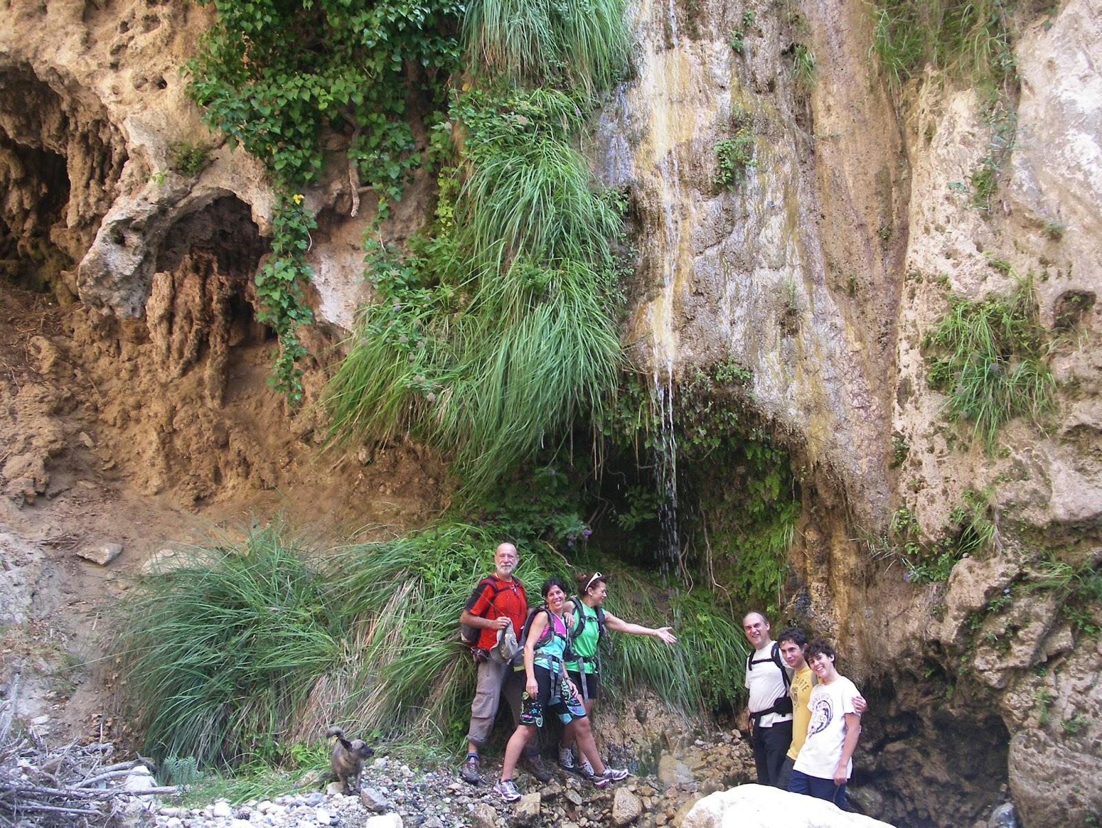 Grupo monta ero andax curso alto del r o ch llar 18 8 2013 for Travertino roca