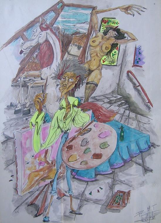 Pintor, amor y arte