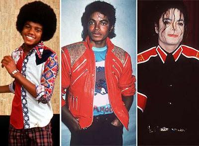 Michael Jackson de niño, joven y adulto