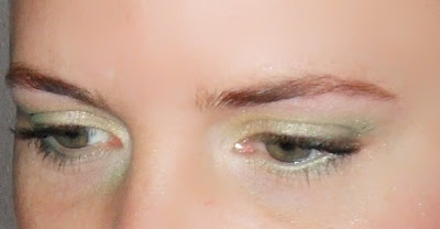 maquillaje de ojos lima limón