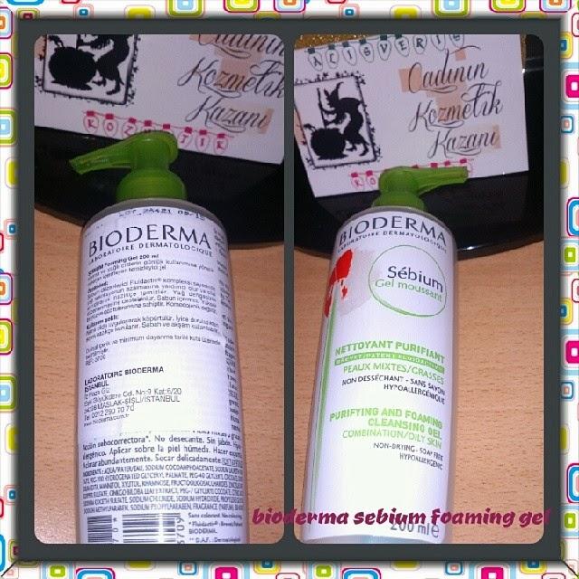 Bioderma Sebium Foaming Jel - Bioderma - Bioderma Foaming Jel kullananlar - Yağlı Karma cilt