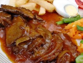 Javanese Style Beef Steak Bistik Jawa