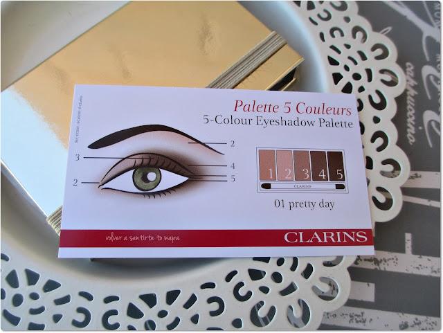 Clarins - Paleta Pretty Day - Propuesta de Maquillaje