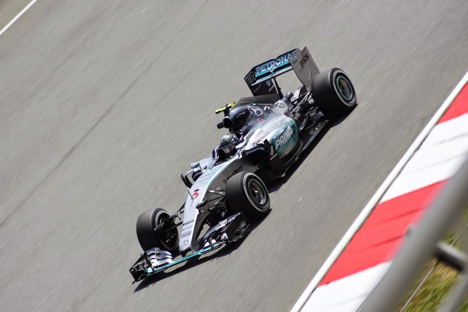 Nico Rosberg in Malaysia