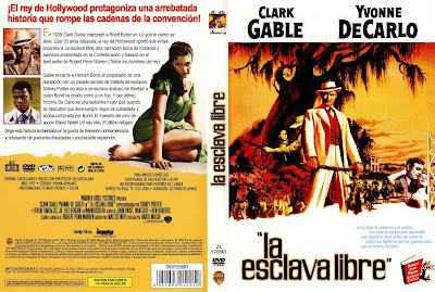 La esclava libre | 1957 | Band of Angels Caratula, cover, dvd
