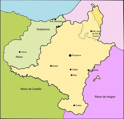 El Reino de Navarra Sancho VII el Fuerte (1194-1234)