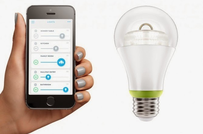 GE smart light bulb with Link