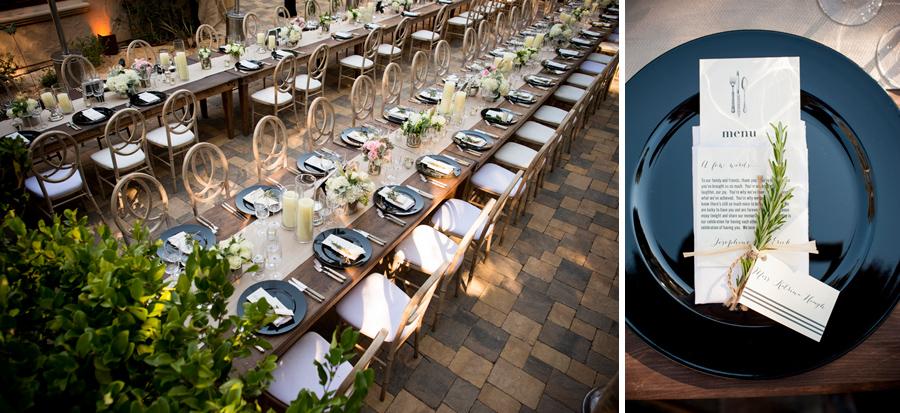 Elegant Backyard Wedding Ideas Reception