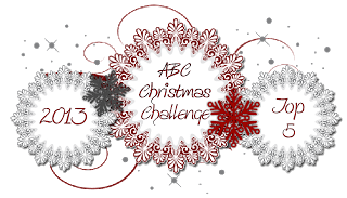 I Made Top 3 at ABC Christmas Challenge Blog - January 2014