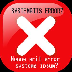 ¿Error del sistema?