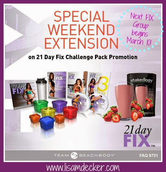 21 Day Fix Challenge Groups