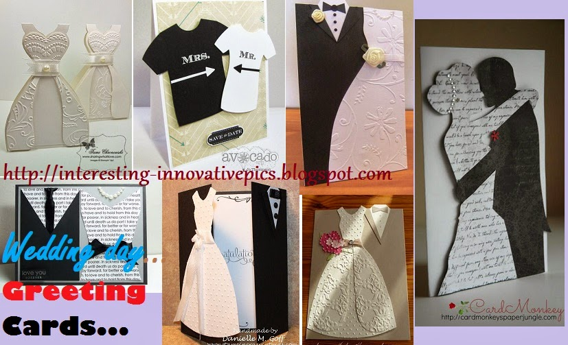 Greeting For Wedding Gift : ... Greeting bride groom on wedding day party with beautiful gift cards