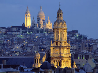 foto veduta Montmartre