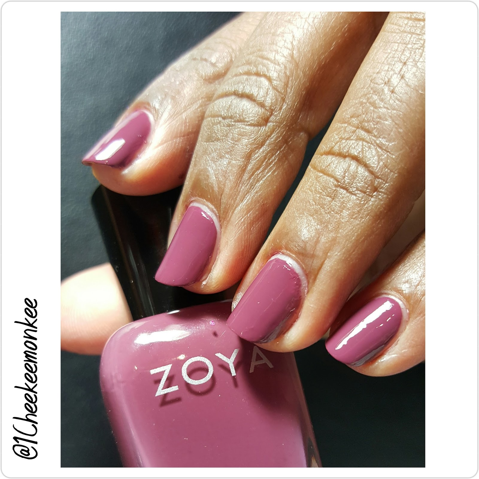 Described As A Full Coverage Medium Mauve Cream Zoya Aubrey Is Definitely Fall Licious Check It Out