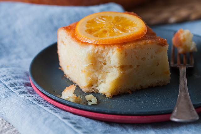 Grčka pita sa pomorandžama i gotovim korama