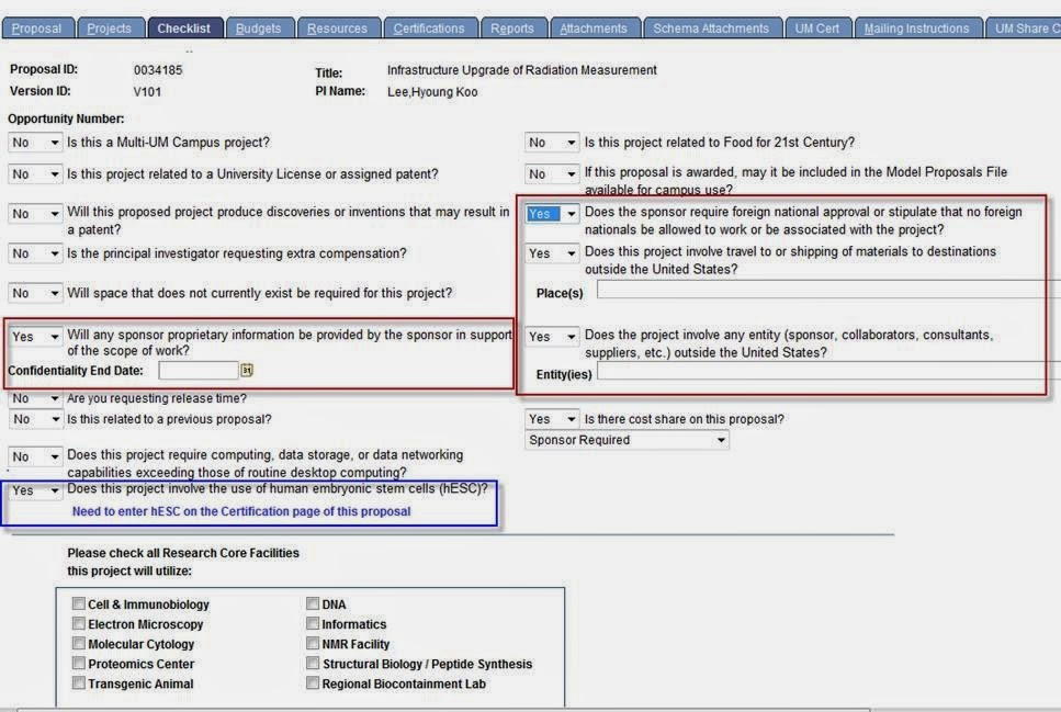 Ospa News Changes To Peoplesoft Proposal Checklist And Psrs