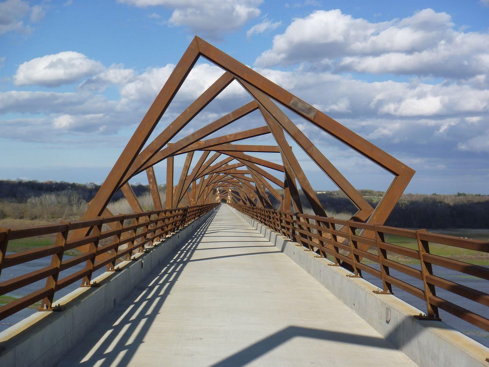 My homemade iowa life high trestle trail bridge for Bridge design
