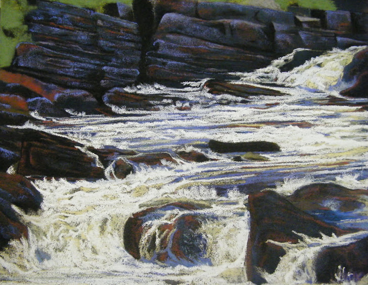 Rushing Water     - a work in progress and a shift from previous styles...