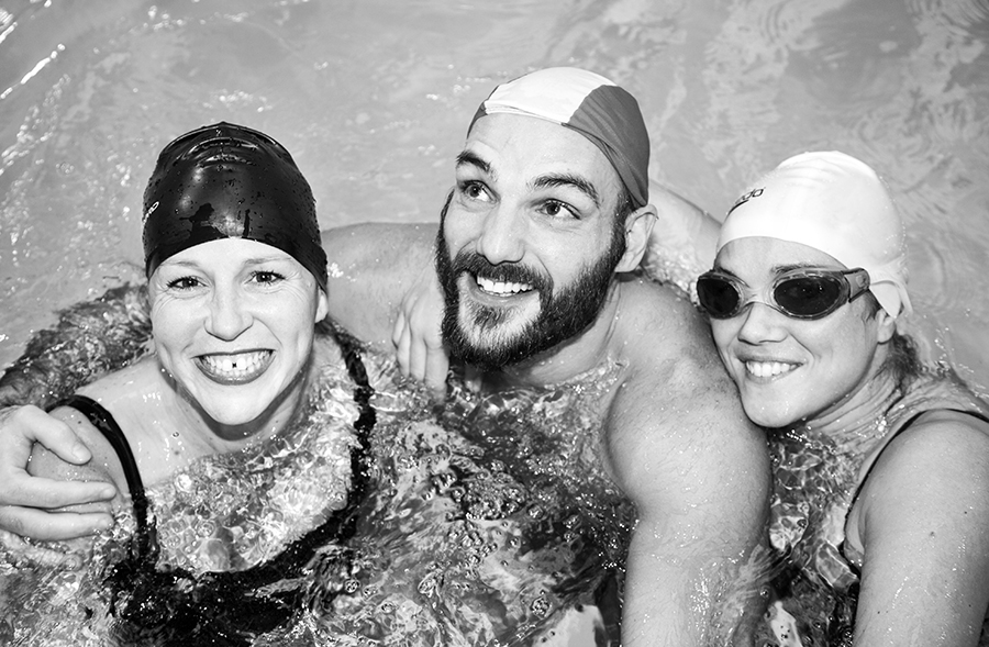 Swimming for Psoriasis Awareness Action - 2014