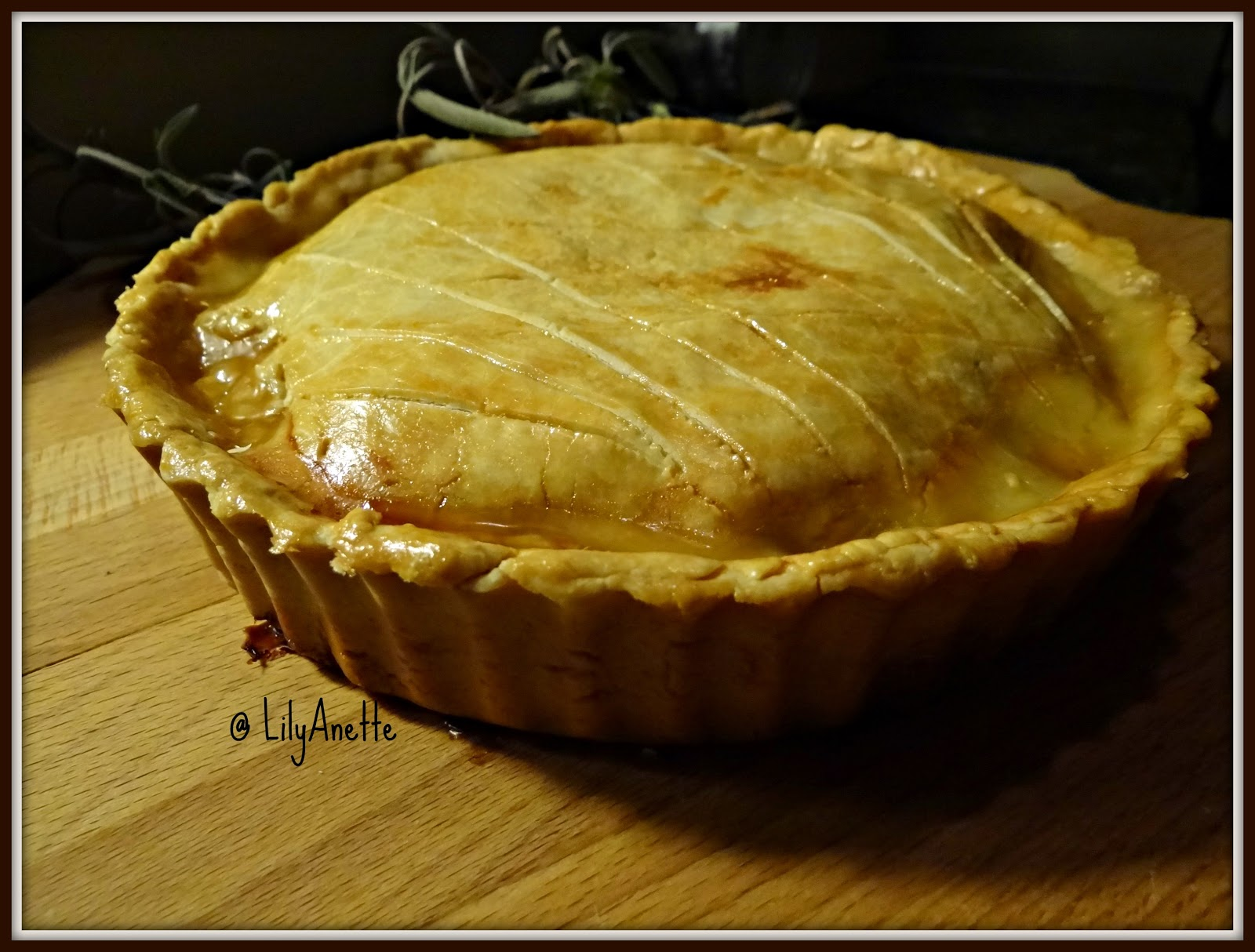 how to cook a frozen meat pie