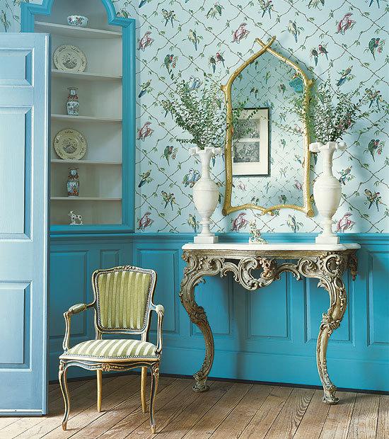 Filosofia de interiores um toque azul turquesa na sua - Pintura azul turquesa ...