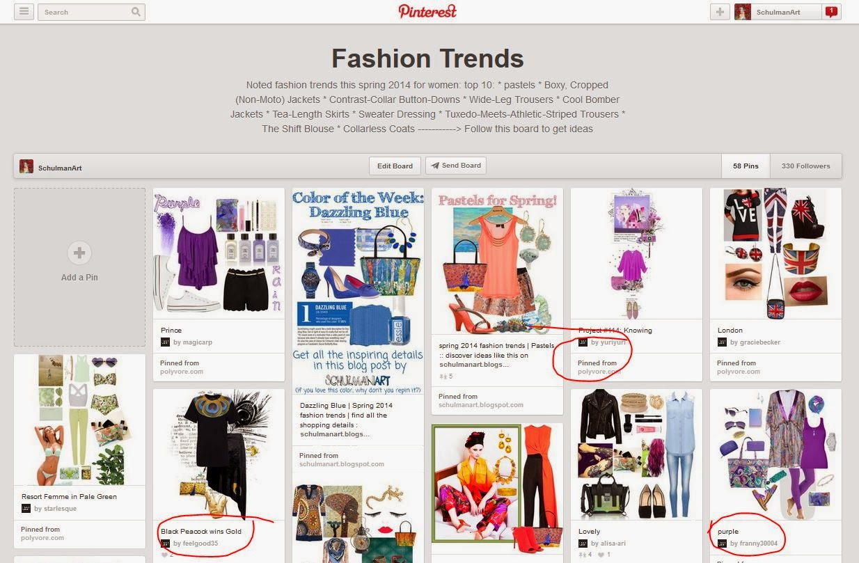 pinterest fashion trends