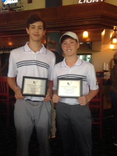Montgomery Catholic's Golf Team at Enterprise Invitational 1