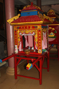 Dinh Cô temple in Long Hải town