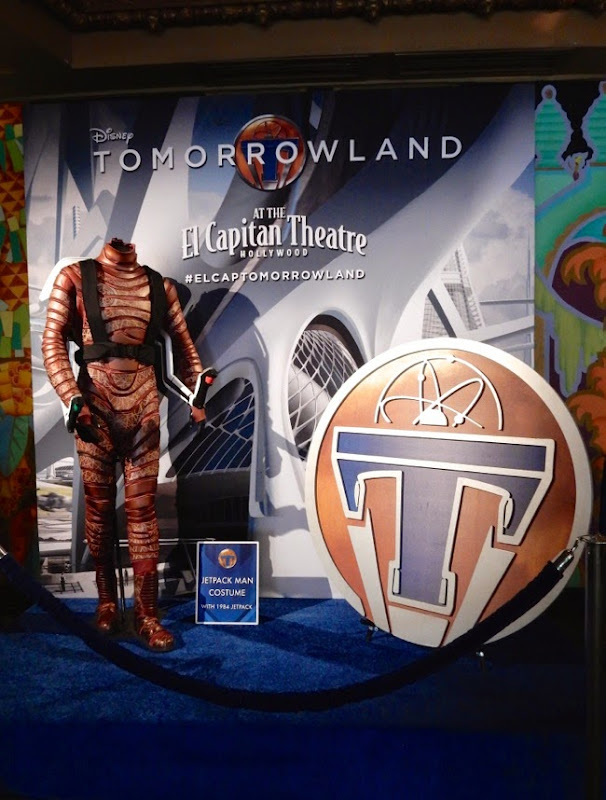 Tomorrowland jetpack man movie costume