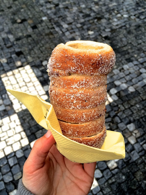 Trdelnik in Prague